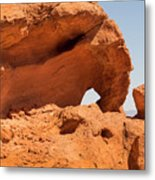Sandstone Wonder Valley Of Fire Metal Print