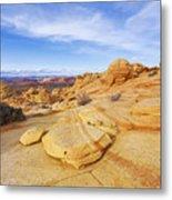 Sandstone Wonders Metal Print by Chad Dutson