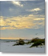 Sandy Alabama Beach Metal Print