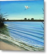 Sandy Beach Metal Print