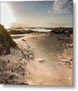 Sandy Beach Haven Metal Print