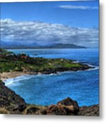 Sandy Beach Park-oahu Metal Print