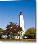 Sandy Hook Lighthouse Metal Print