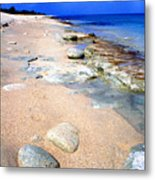 Sandy Point National Wildlife Refuge Metal Print