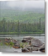Sandy Stream Pond Metal Print