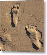 Sandy Toes Metal Print