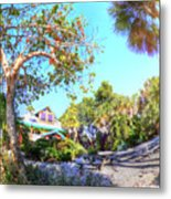 Sanibel And Captiva Visitor Center Iv Metal Print