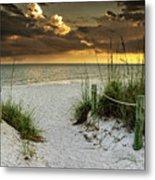 Sanibel Island Beach Access Metal Print