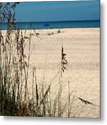 Sanibel Island Beach Fl Metal Print