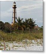 Sanibel Island Lighthouse Metal Print