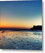 Sanibel Sunrise Metal Print