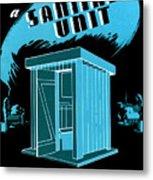 Sanitary Unit Fap Poster Metal Print
