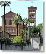 Sant Anselmo Church Metal Print