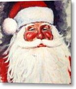 Santa 1 Metal Print