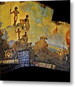 Santa Barbara Hall Of Murals Metal Print