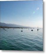 Santa Barbara Harbor Metal Print