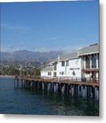 Santa Barbara Pier Metal Print