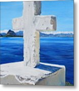 Santa Catarina's Cross Metal Print