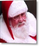 Santa Clause  Metal Print