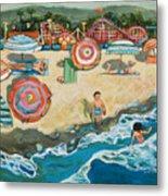 Santa Cruz Beach Boardwalk Metal Print