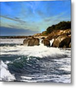 Santa Cruz Coastline Metal Print