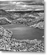 Santa Cruz Lake, New Mexico, April 18, 2016 Metal Print