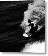 Santa Cruz Surfer Dude Metal Print