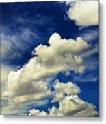 Santa Fe Clouds Metal Print
