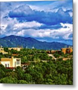 Santa Fe New Mexico Metal Print