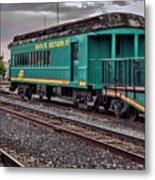Santa Fe Rail Yard Metal Print