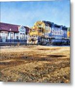 Santa Fe Train In Ardmore Metal Print