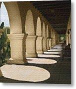 Santa Inez Arches Metal Print