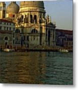 Santa Maria Della Salute In Venice In Morning Light Metal Print