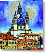 Santa Maria Venice Metal Print