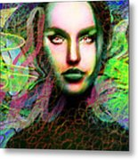 Santhia Thoughts About You Metal Print