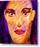 Santia Seen By Maca Metal Print