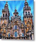 Santiago De Compostela Cathedral Metal Print