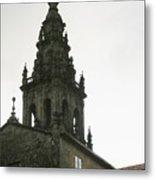 Santiago De Compostela Steeple Metal Print