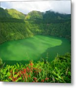 Santiago Lake Metal Print