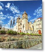Santo Domingo Church Wide Angle Metal Print