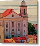 Santo Estevao Church Metal Print