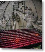 Santo Nino Candles Metal Print