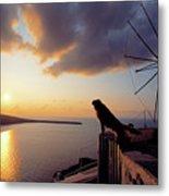 Santorini 014 Metal Print