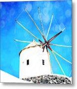 Santorini 2 Metal Print