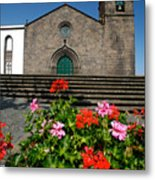 Sao Miguel Arcanjo Church Metal Print