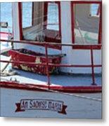 Saoirse Boat Donegal Metal Print