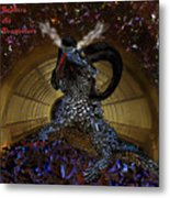 Saphira The Dragonlord Metal Print