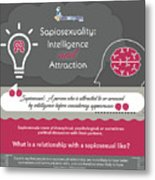 Sapiosexuality Intelligence And Attraction Metal Print