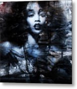 Sapphire Longing In The Blue Dust #1 Metal Print