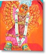 Saptashrungi Devi Nasik Maharashtra Metal Print by Kalpana Talpade Ranadive